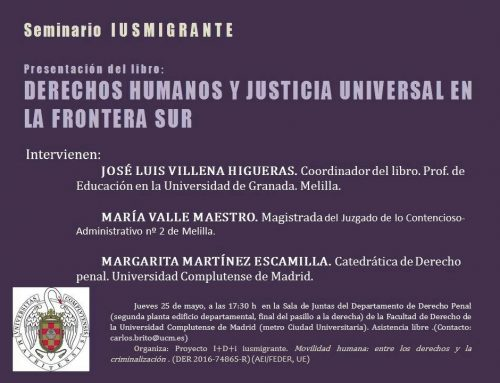 Seminario IUSMIGRANTE en Madrid