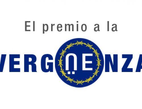 Campaña Premio de la #vergÜEnza