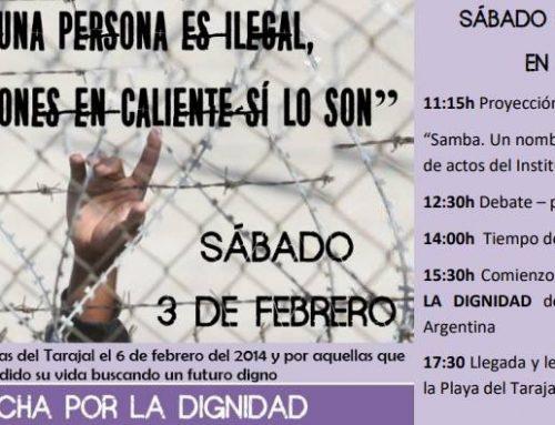 Caravana Abriendo Fronteras viaja a Ceuta para tomar parte de los actos en memoria de las muertes en Tarajal