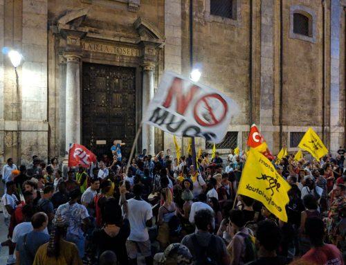 Caravana Abriendo Fronteras llega a Palermo #ApriamoIPorti