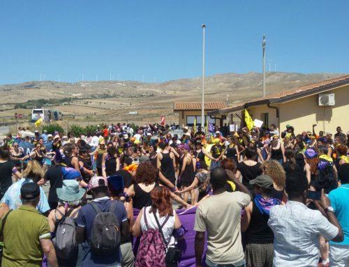 Caravana Abriendo Fronteras llega a Catania #Cara Mineo #NonUnaDiMeno