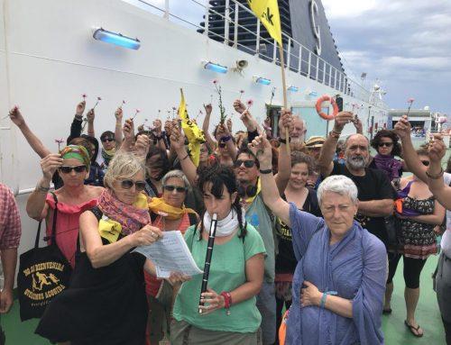 Caravana Abriendo Fronteras vuelve a Cataluña #CaravanaItalia