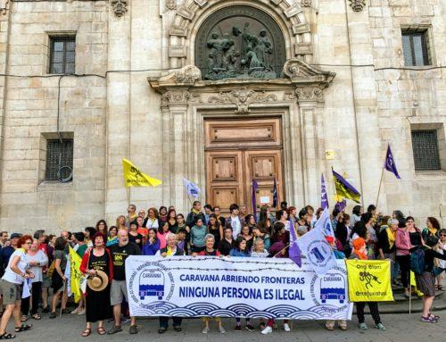 CARAVANA INTERNACIONAL ABRIENDO FRONTERAS PONE RUMBO FRONTERA SUR