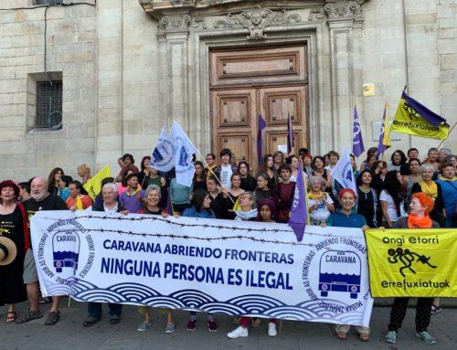 Seremos refugiadas los siete días a la semana / Cristina Garcia de Andoin Martin